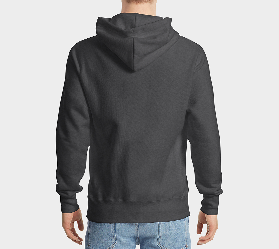 Wolf Hoodie Gray preview #2