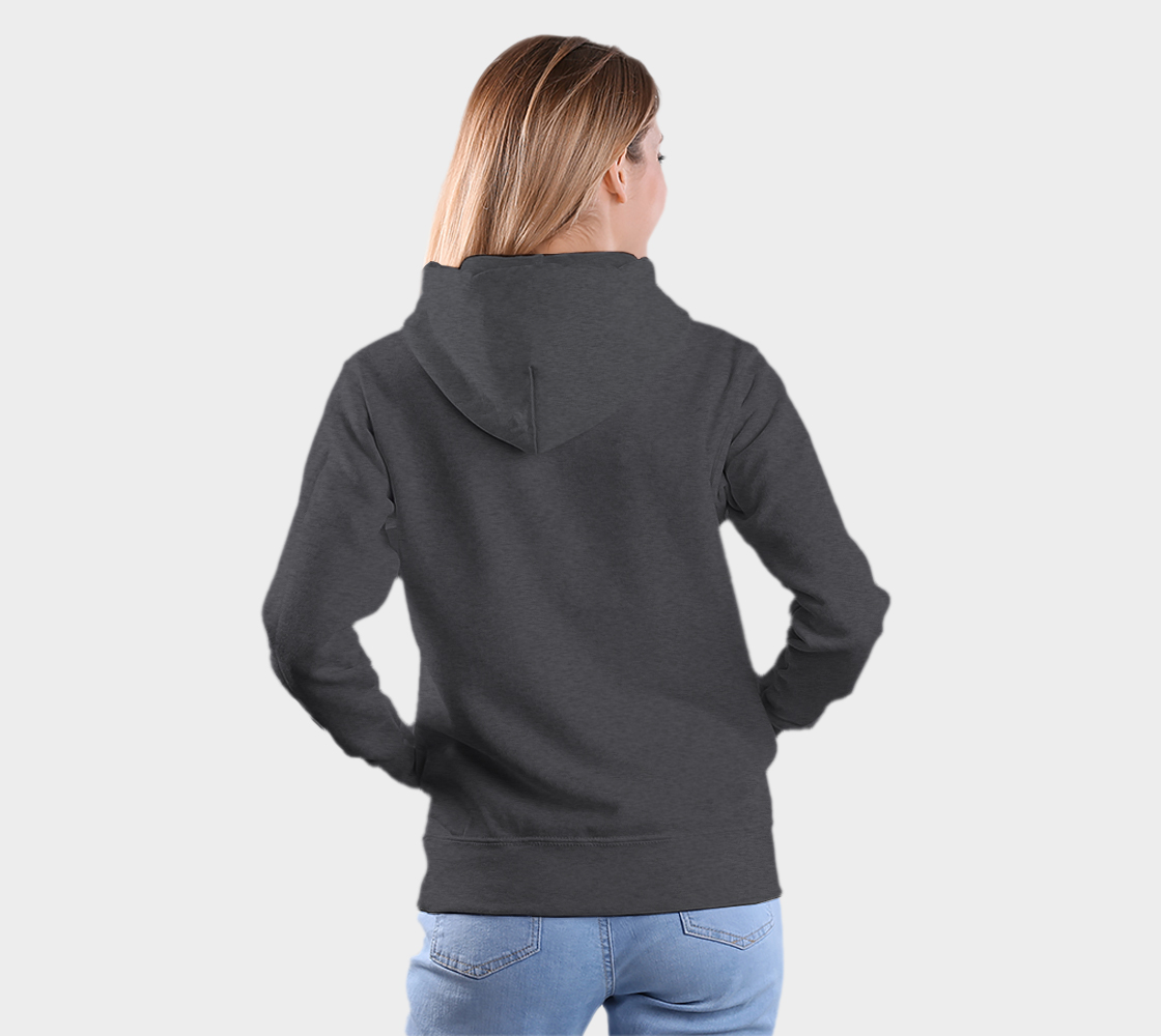 Wolf Hoodie Gray preview #5