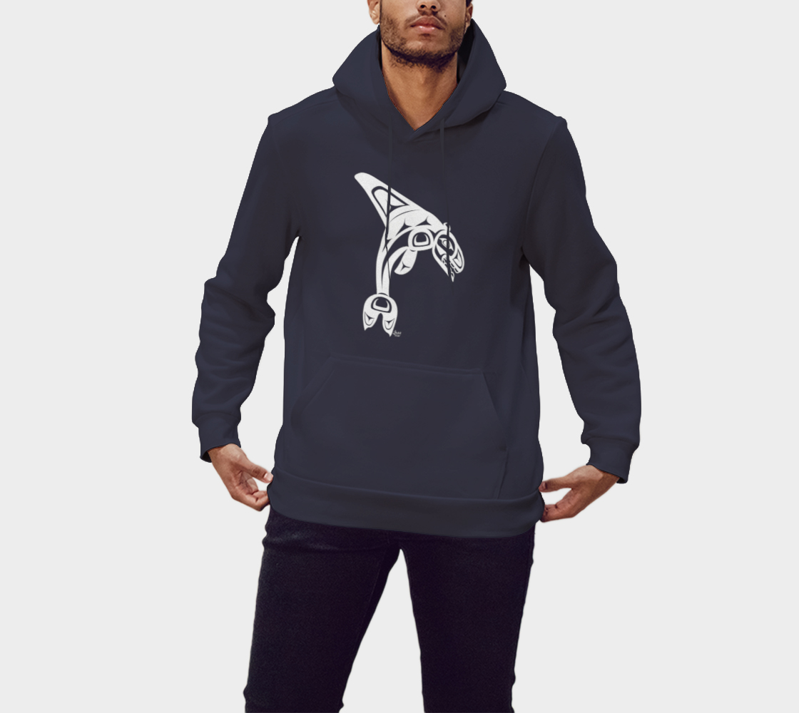 Killerwhale Hoodie Blue preview #1