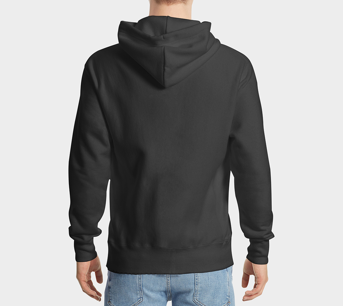 Butterfly Hoodie Black preview #2
