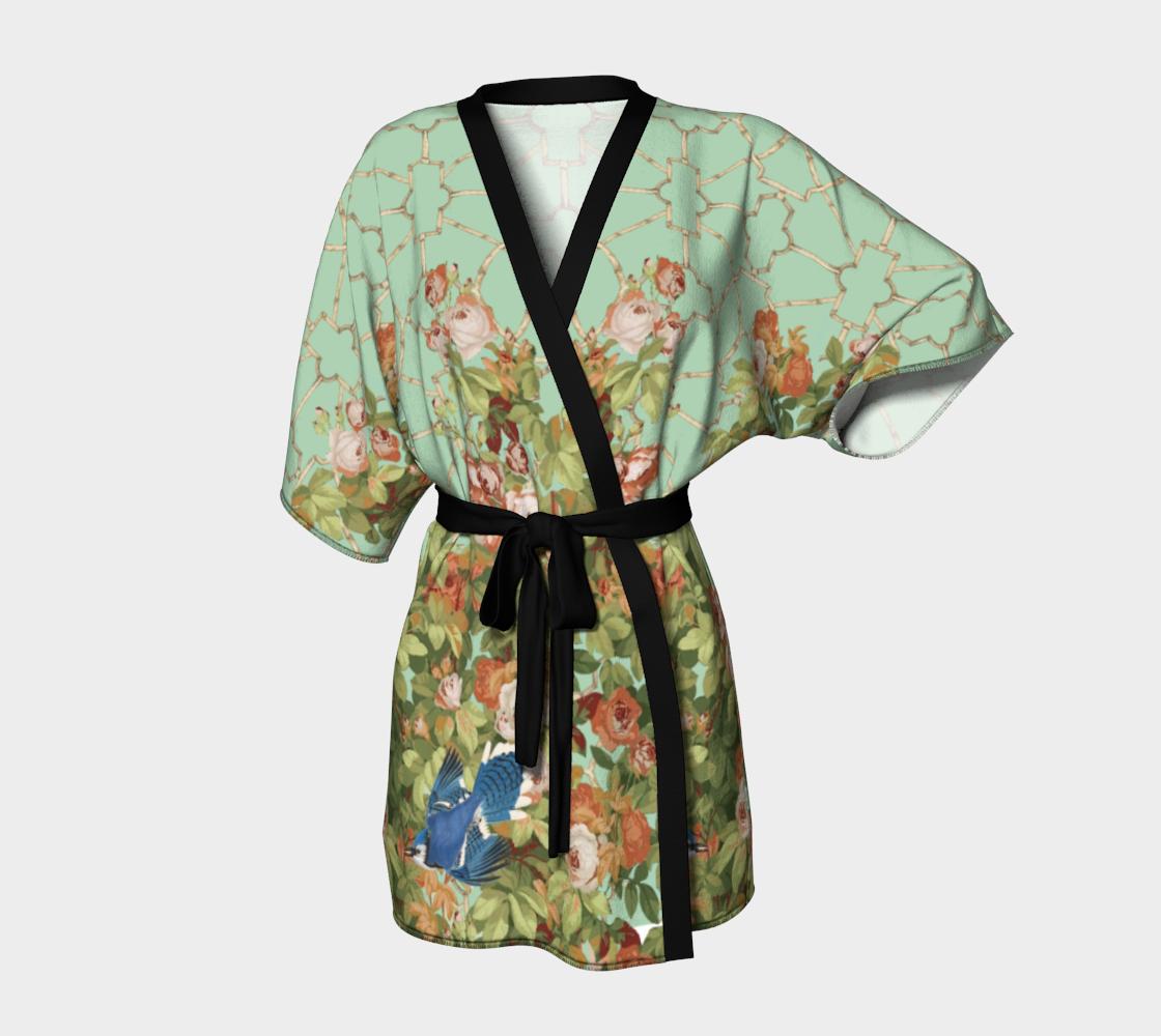 Roses Kimono Robe preview