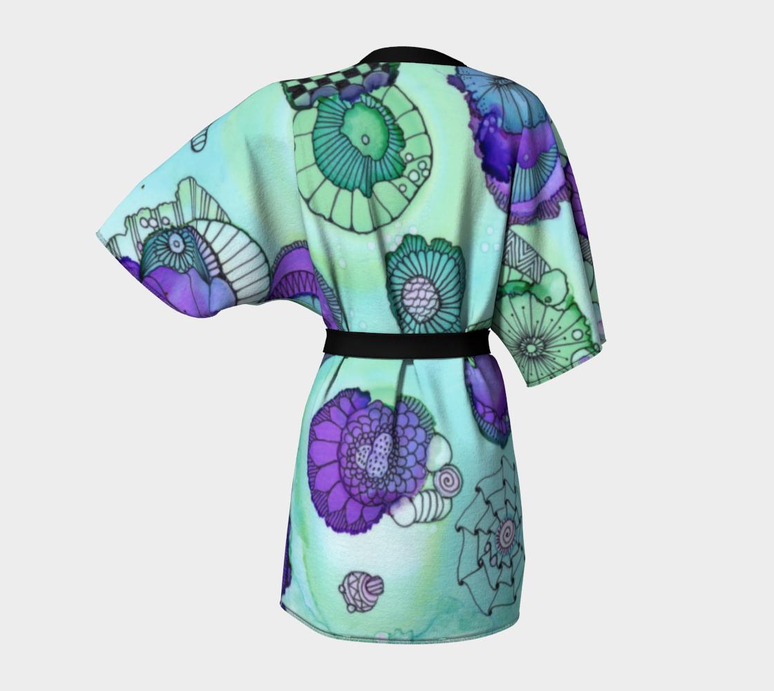 Pistachio Kimono Robe preview #4