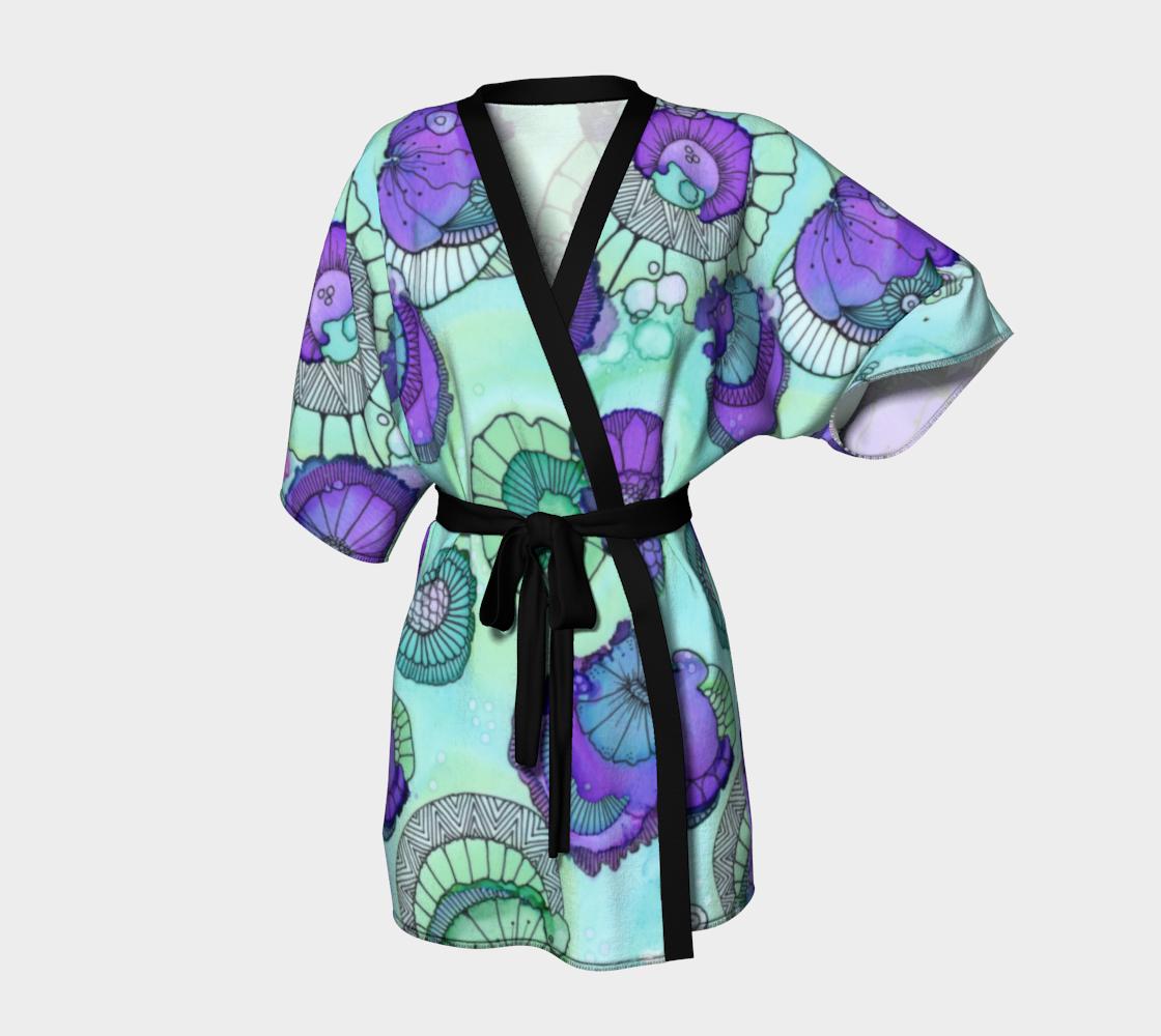 Aperçu de Pistachio Kimono Robe