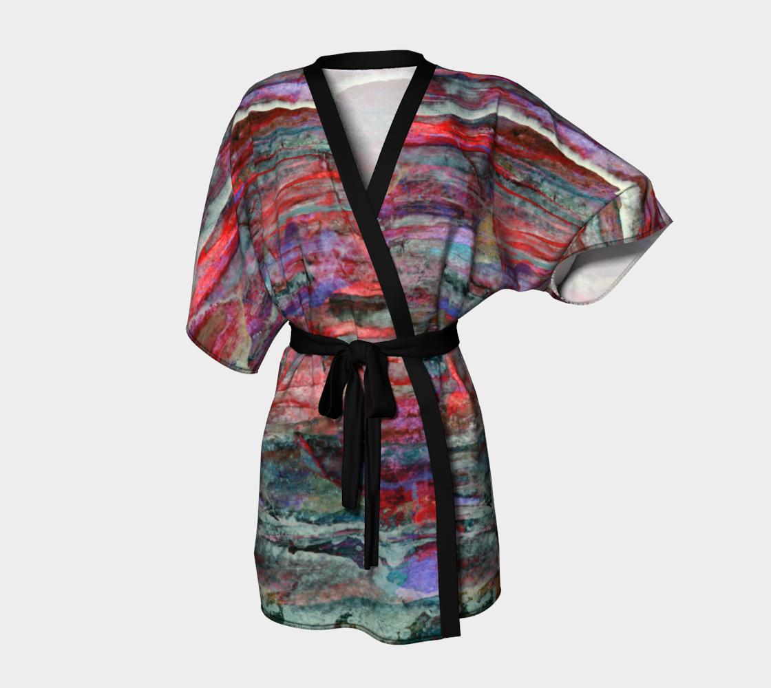 Red Sky Tonight Kimono preview