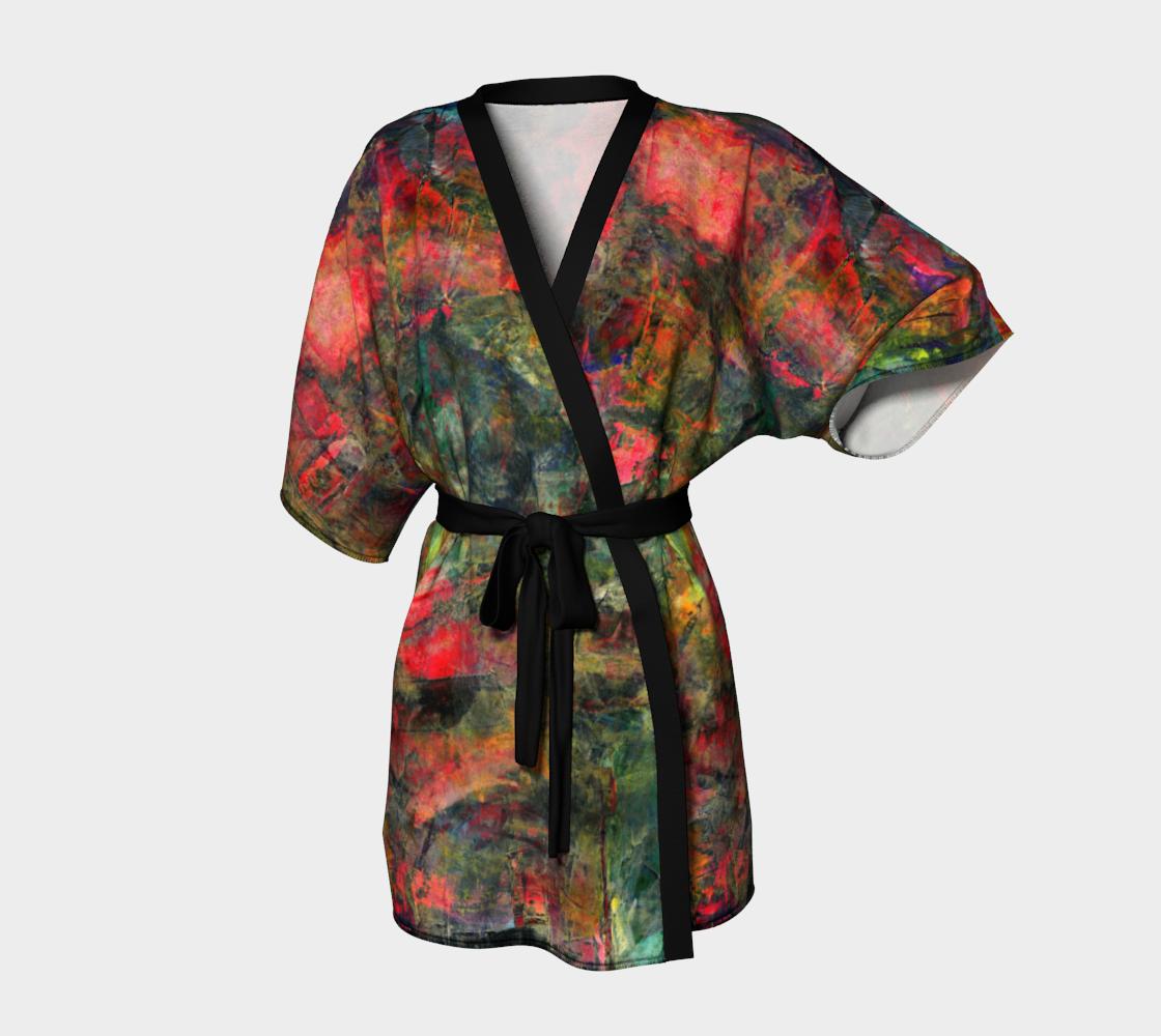 Abstract Garden Kimono preview