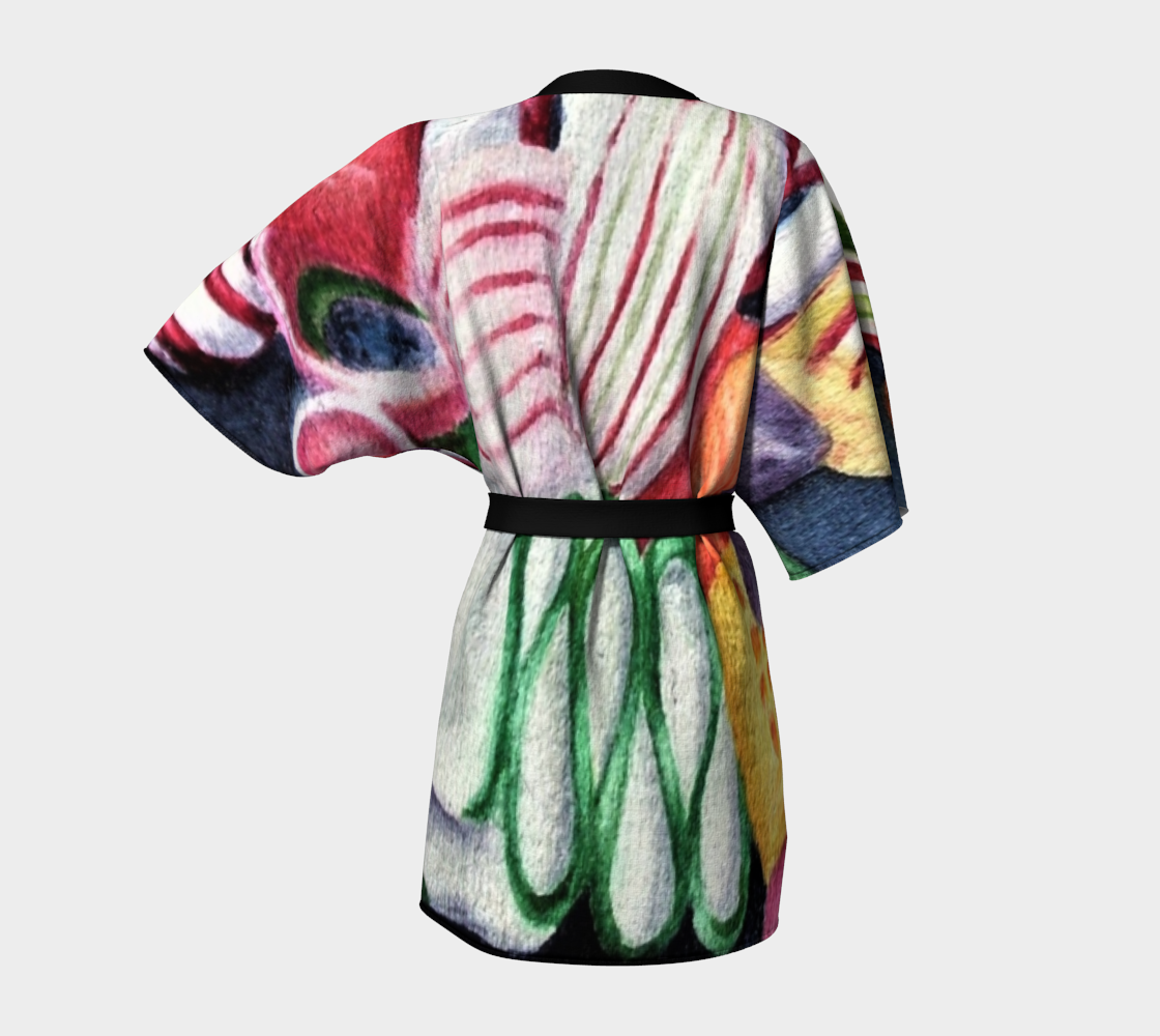 Candy Land Kimono Robe preview #4