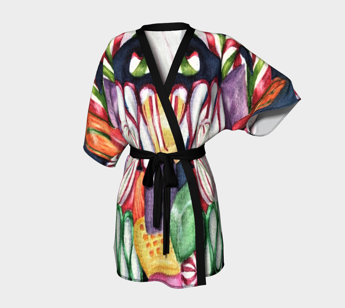 Candy Land Kimono Robe preview #1