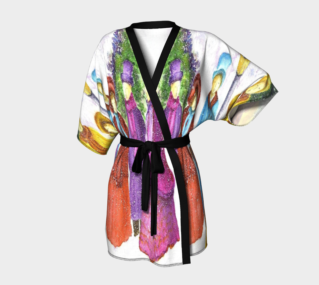 Carolers Kimono Robe preview