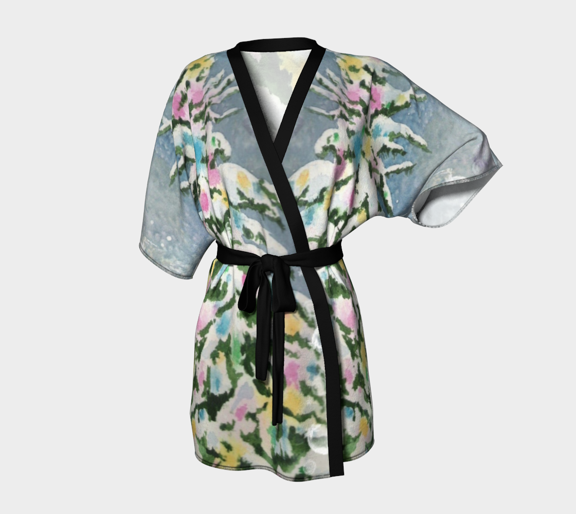 Winter Wonderland Kimono Robe preview