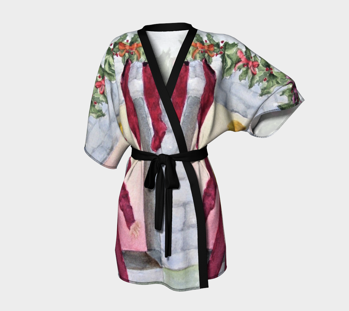 Christmas Eve Kimono Robe preview