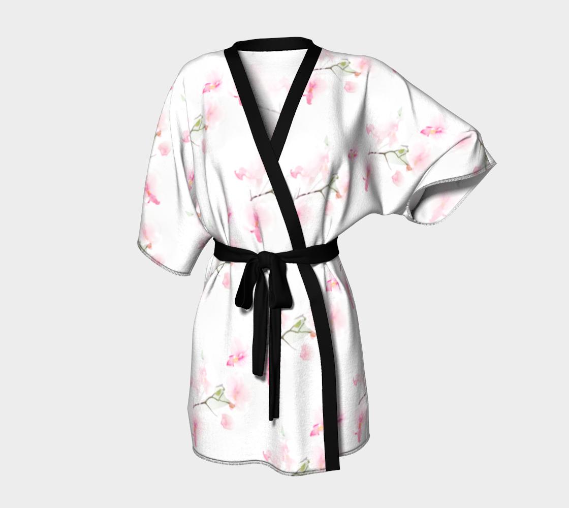 Aperçu de Kimono Robe Orchidée