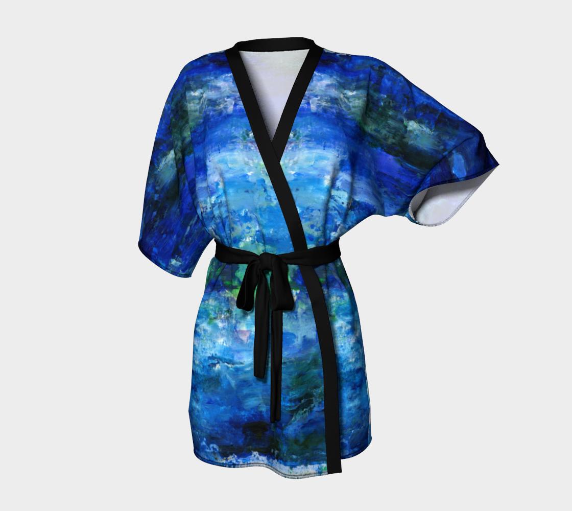 Blue Lagoon Kimono preview