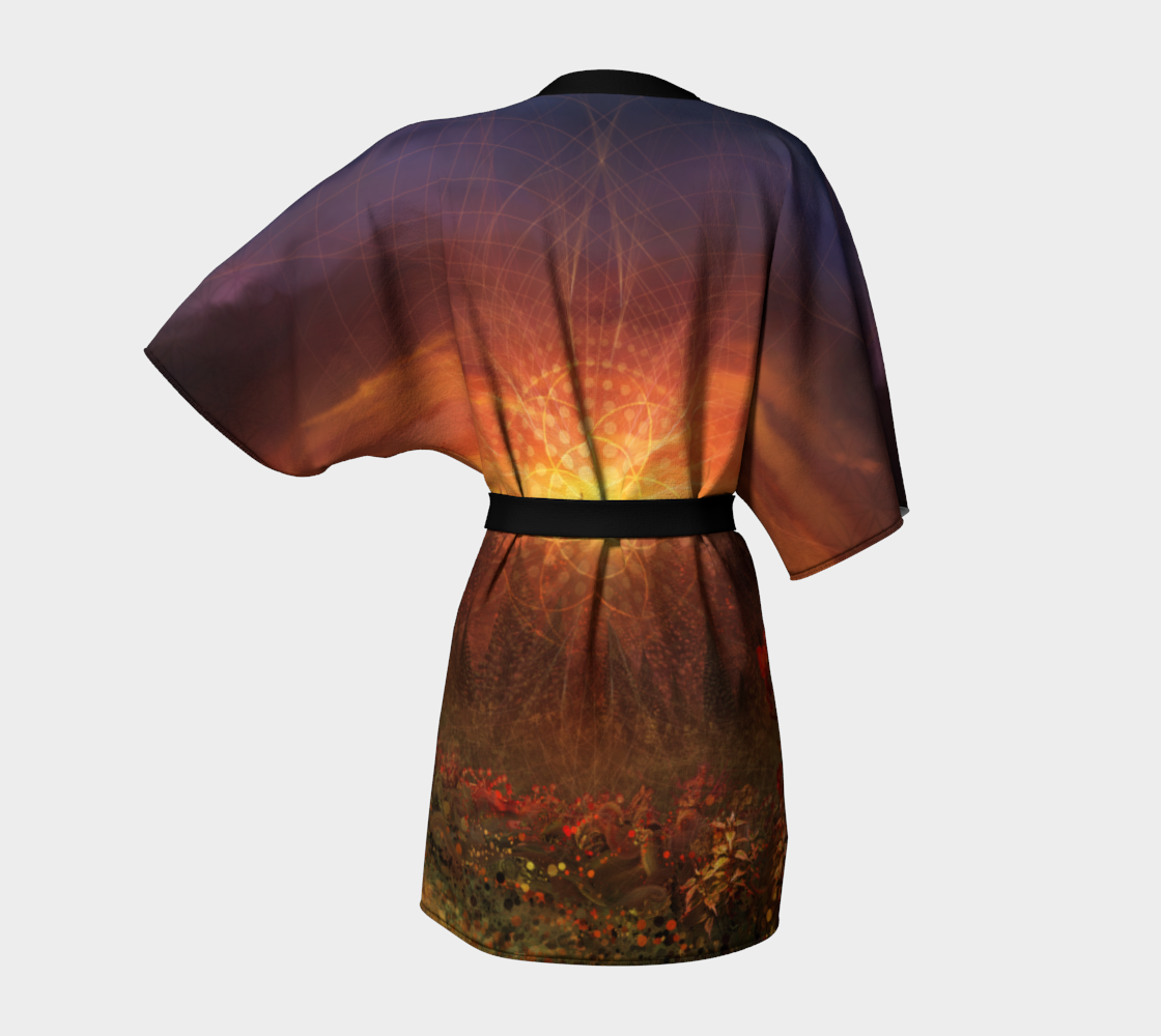 Solar Memory Kimono Robe preview #4