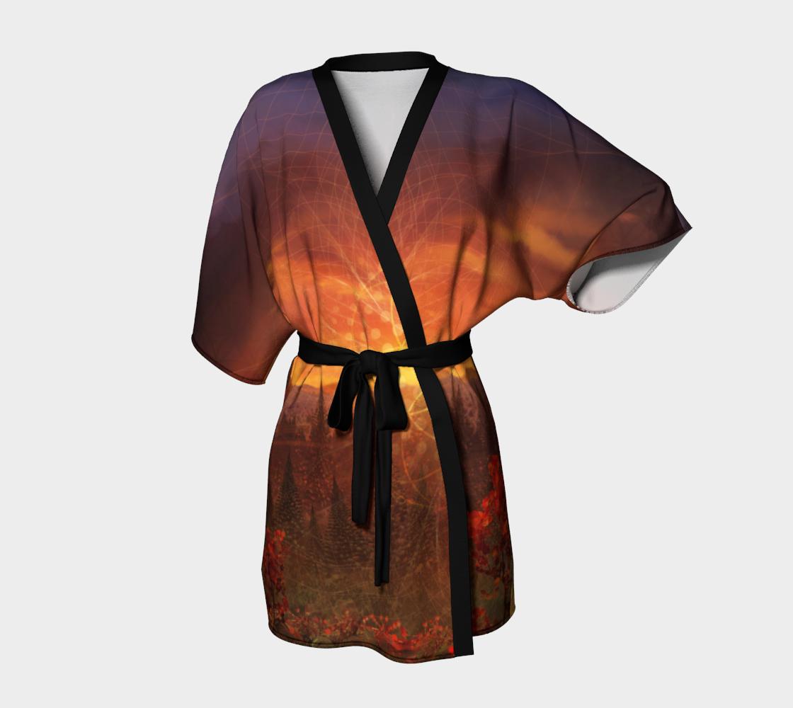 Solar Memory Kimono Robe preview
