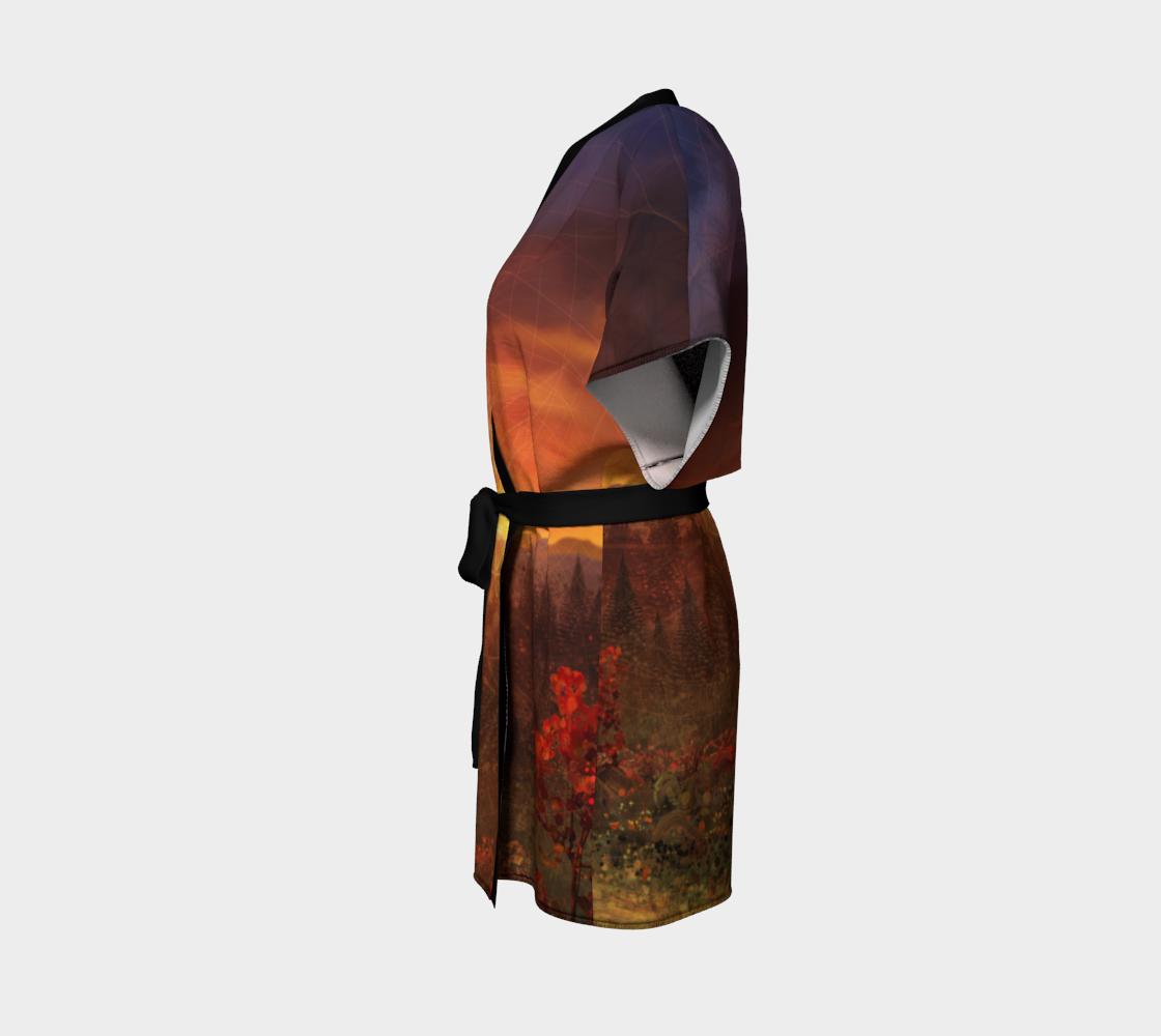 Solar Memory Kimono Robe preview #2