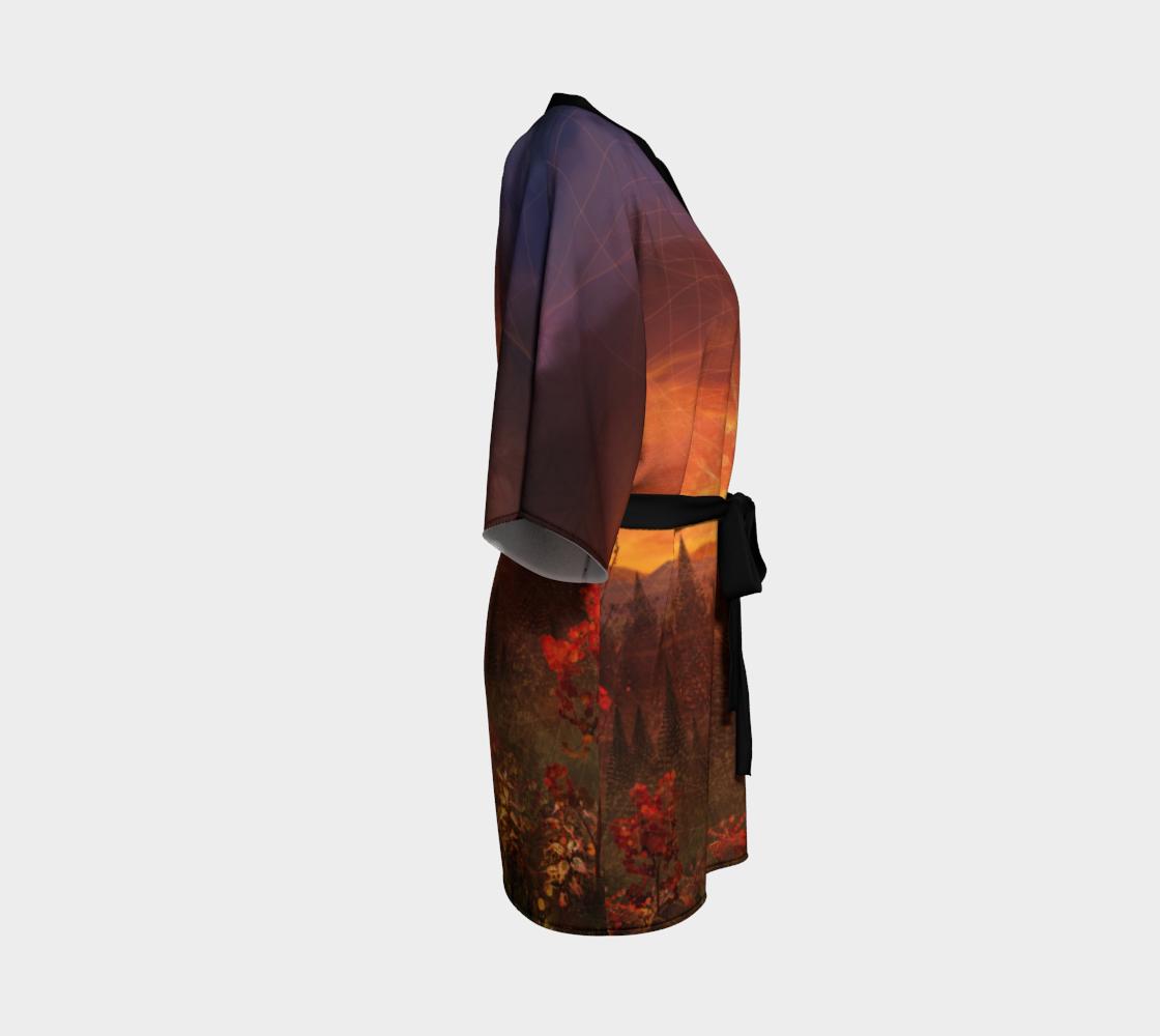 Solar Memory Kimono Robe preview #3