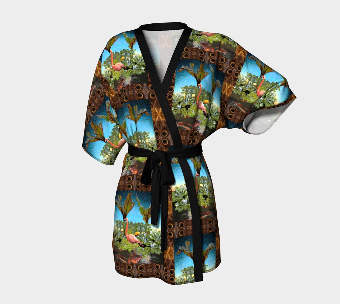 Aperçu de windowing kimono robe