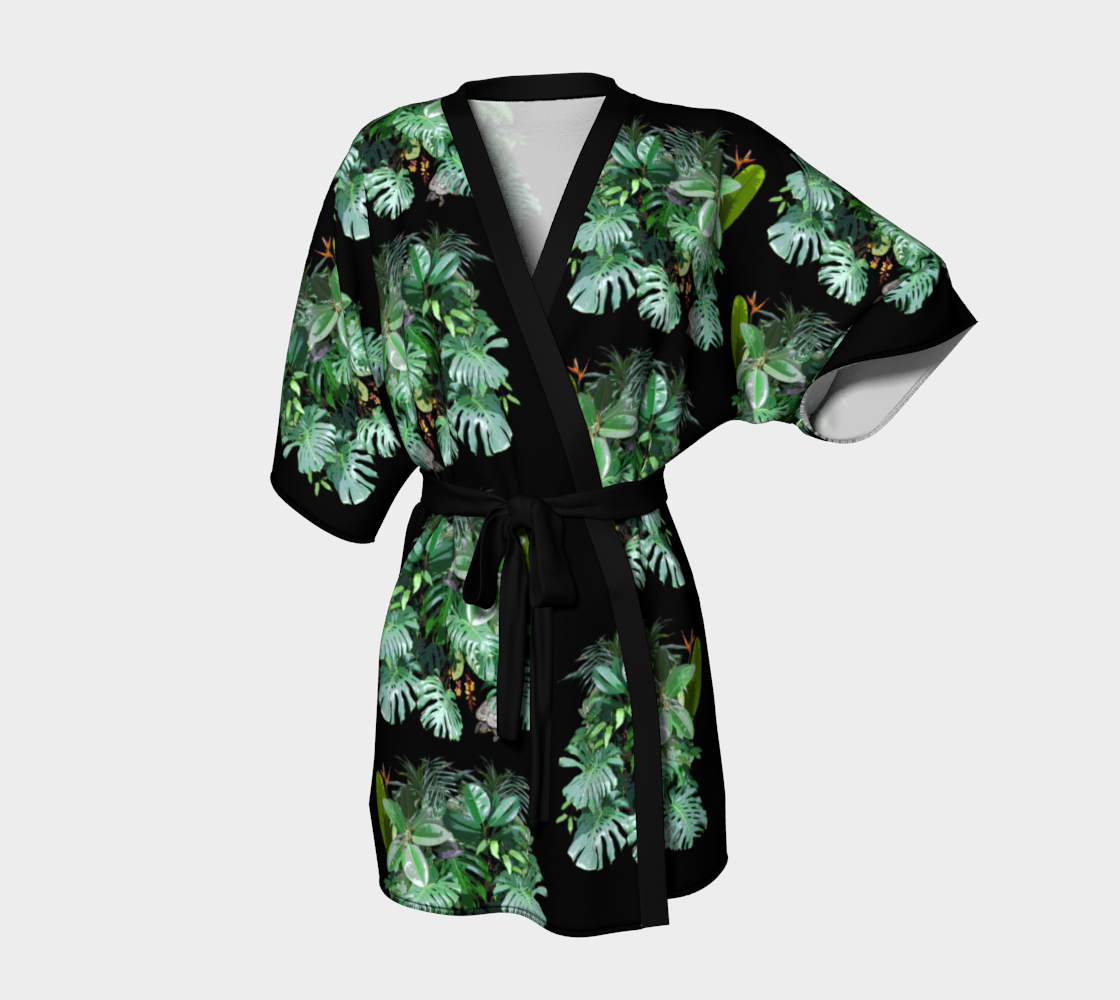 jumble kimono robe preview