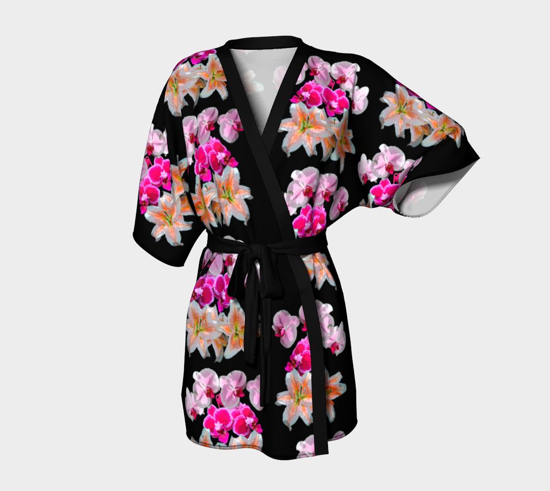 Aperçu de florale kimono robe