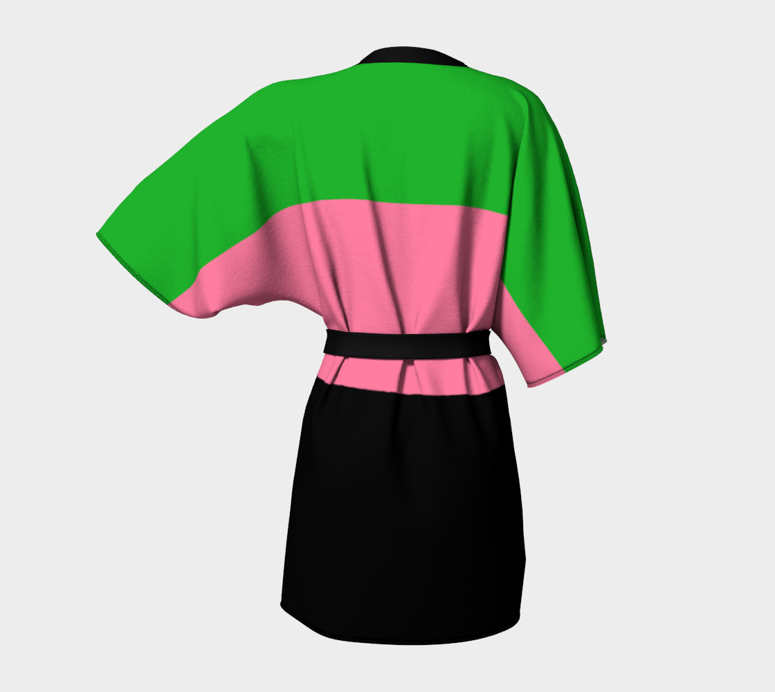 Spring Green, Hot Pink and Black preview #4