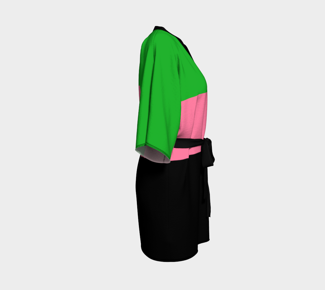 Spring Green, Hot Pink and Black preview #3