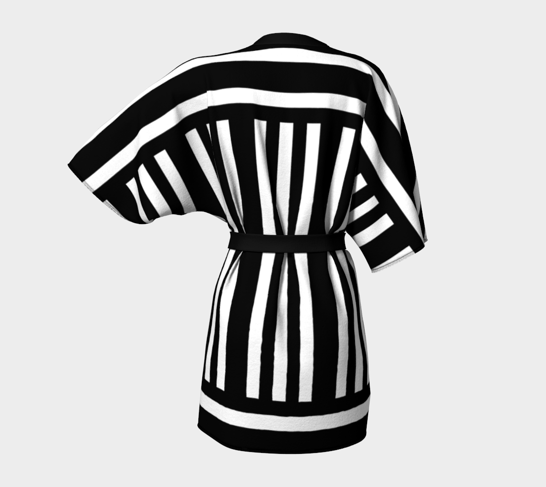 Bold Black and White Stripes preview #4