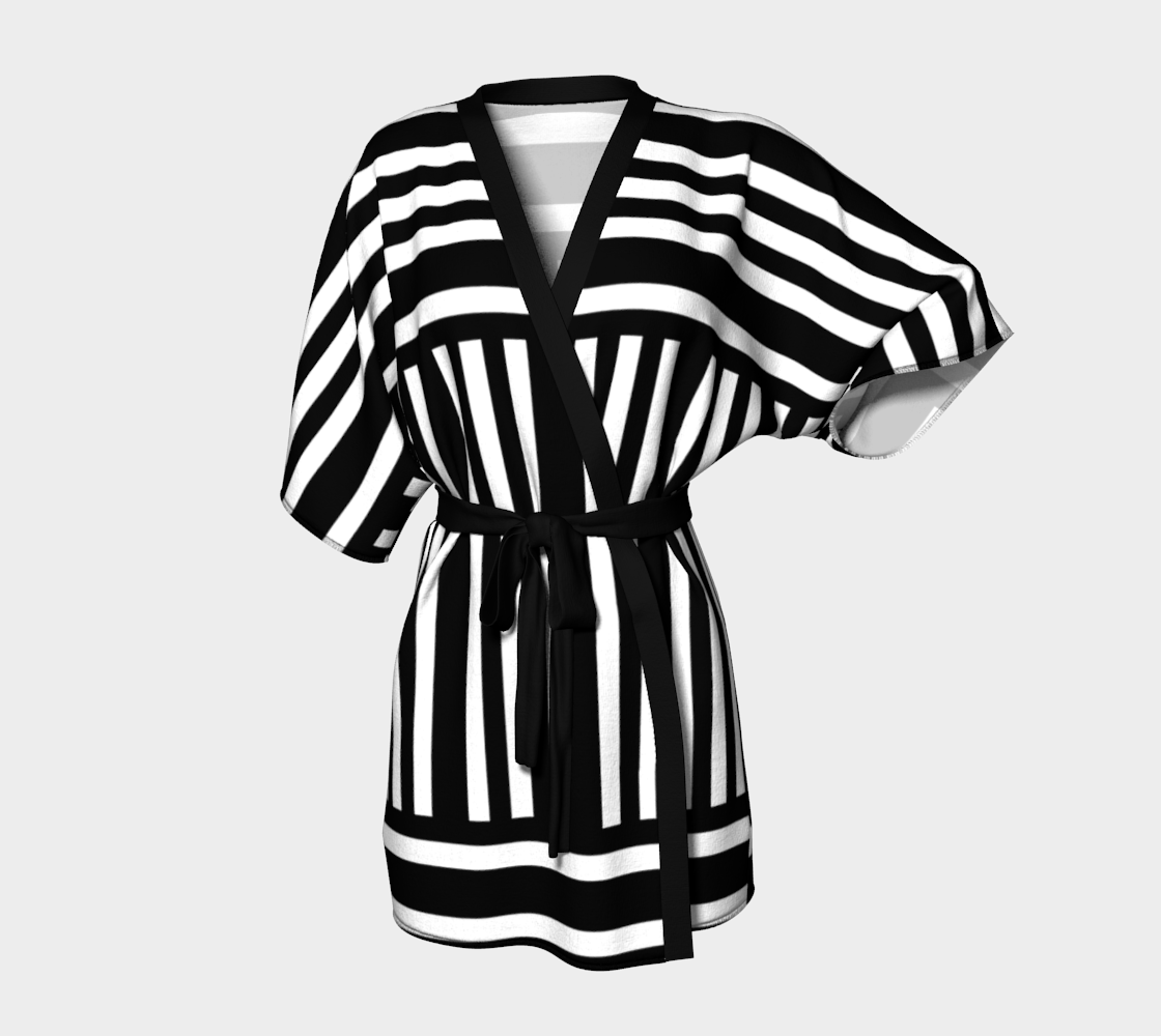 Bold Black and White Stripes preview