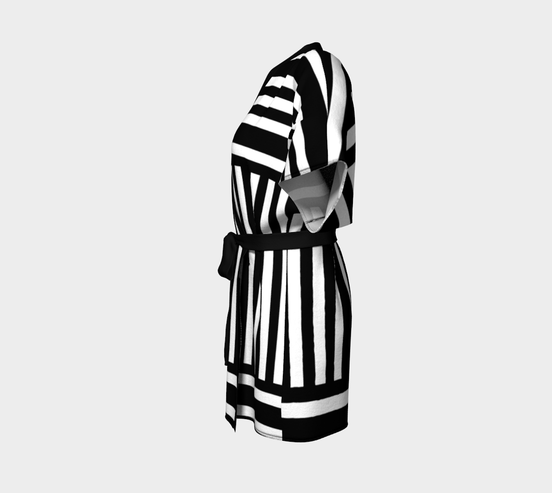 Bold Black and White Stripes preview #2