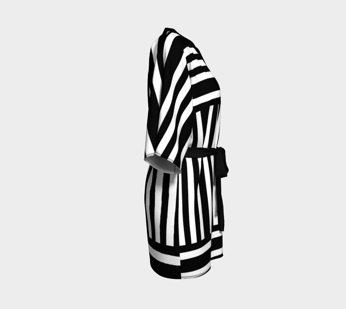 Bold Black and White Stripes preview #3