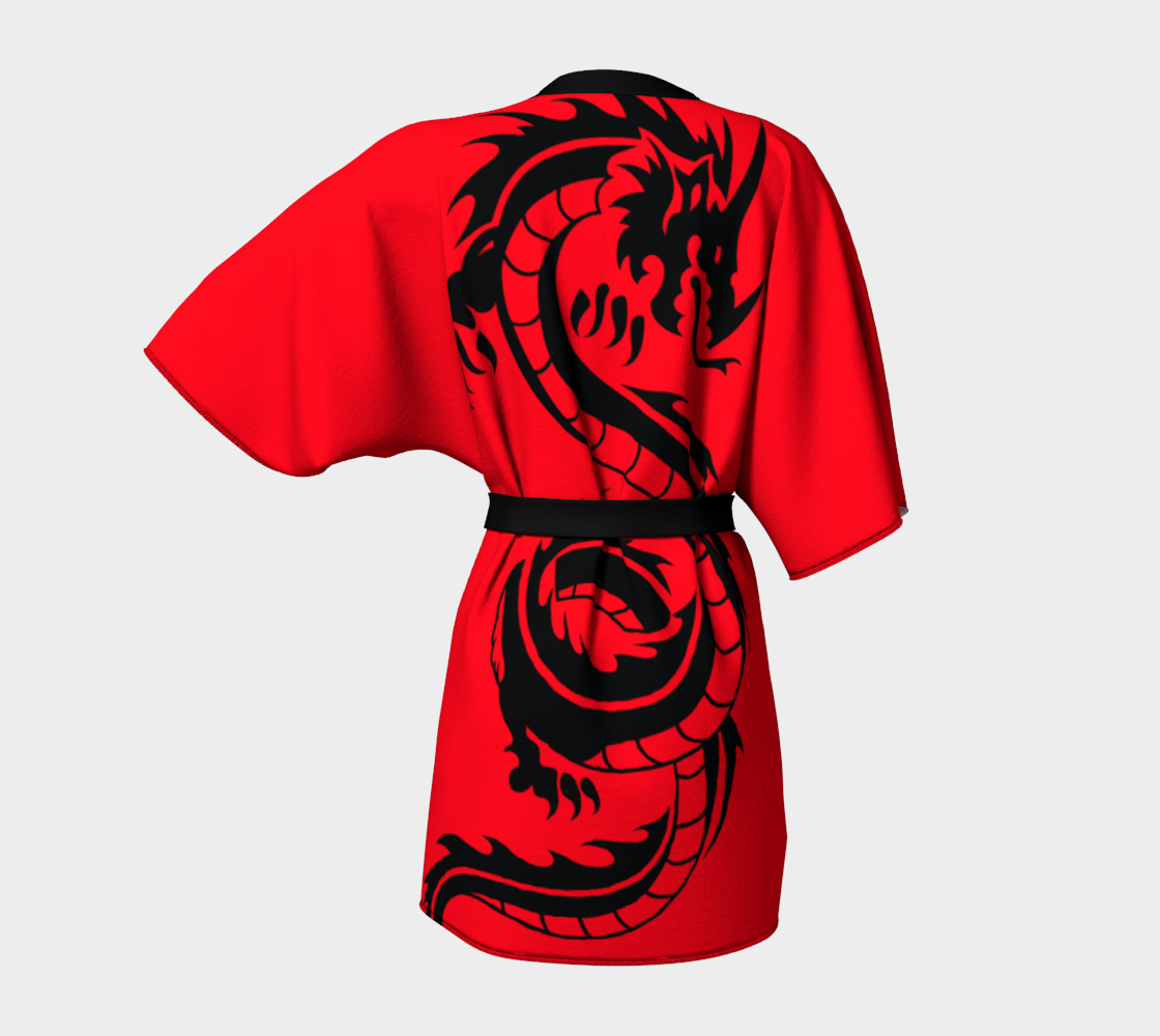 Aperçu de Black Dragons on Red #4