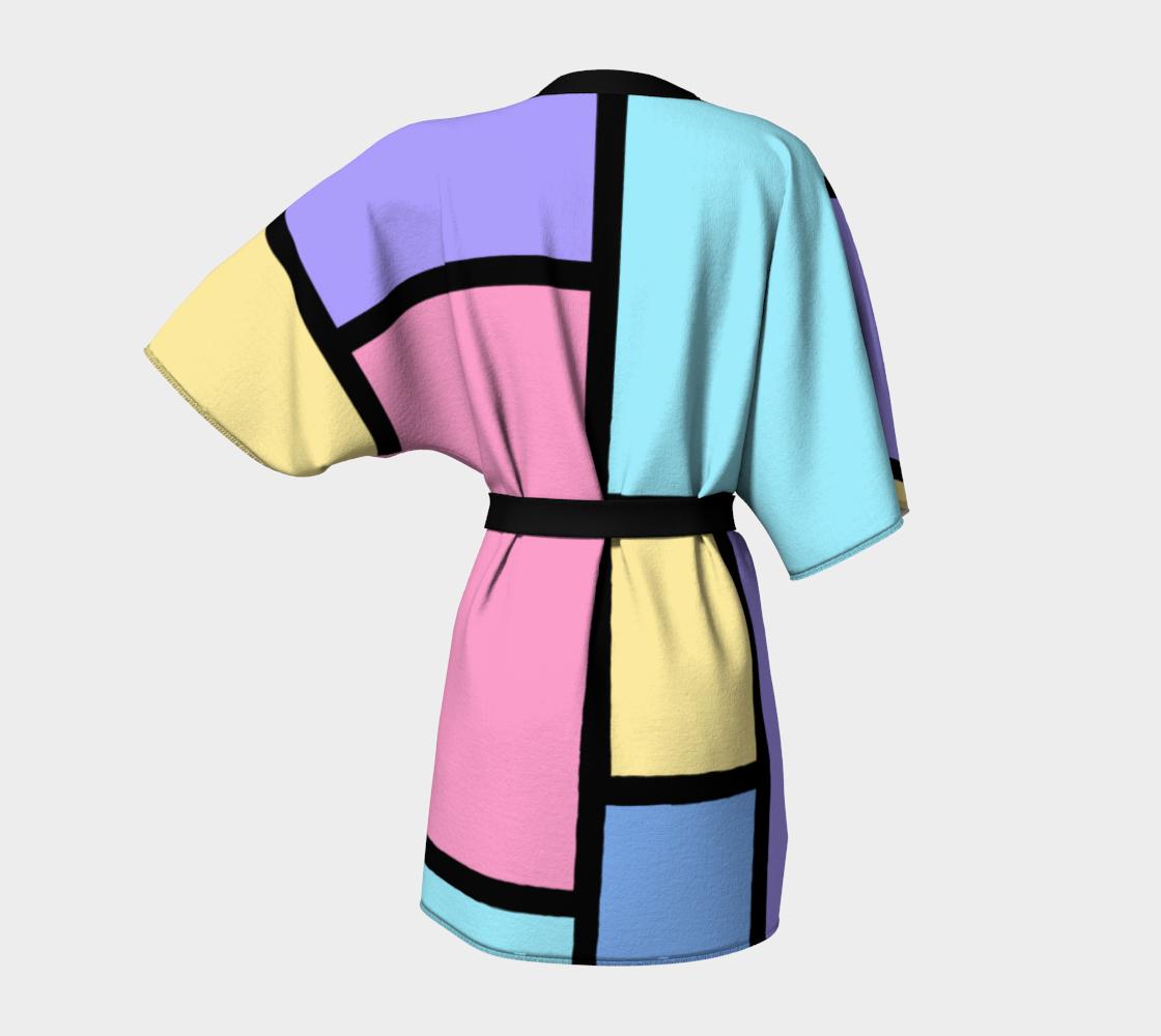 Pop Art Color Block Pastel preview #4