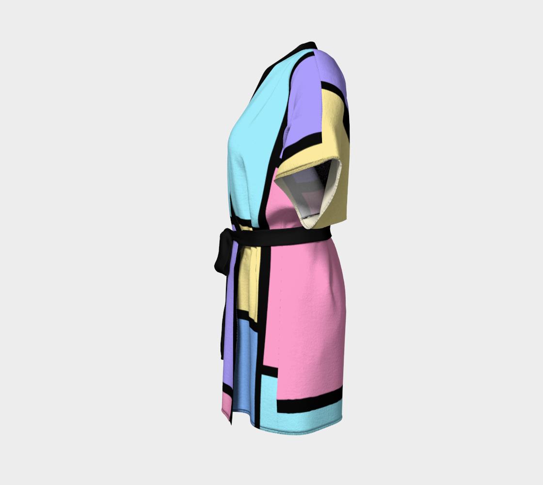 Pop Art Color Block Pastel preview #2