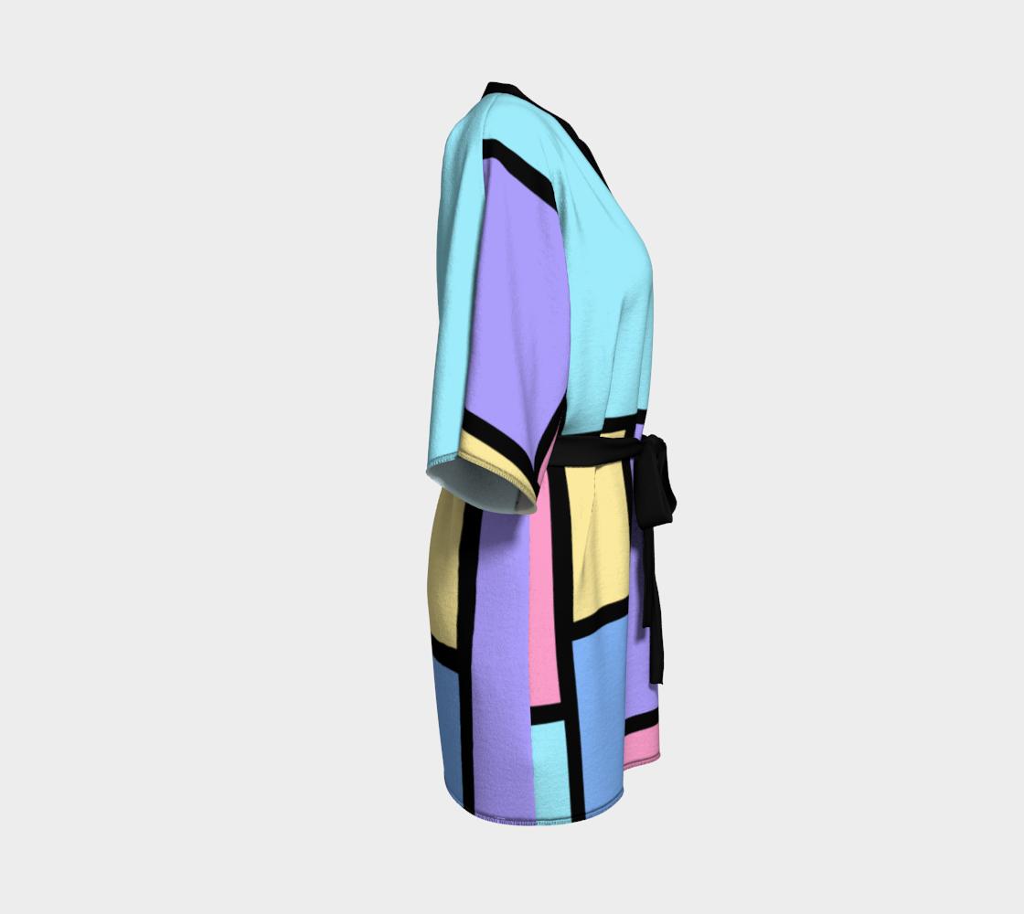 Pop Art Color Block Pastel preview #3