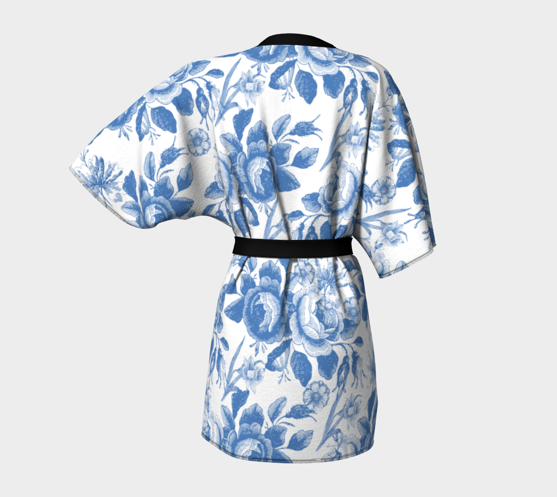 Gorgeous Blue and White Toile Look preview #4