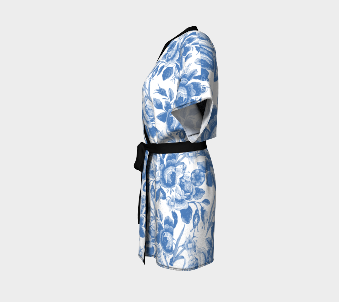 Gorgeous Blue and White Toile Look preview #2