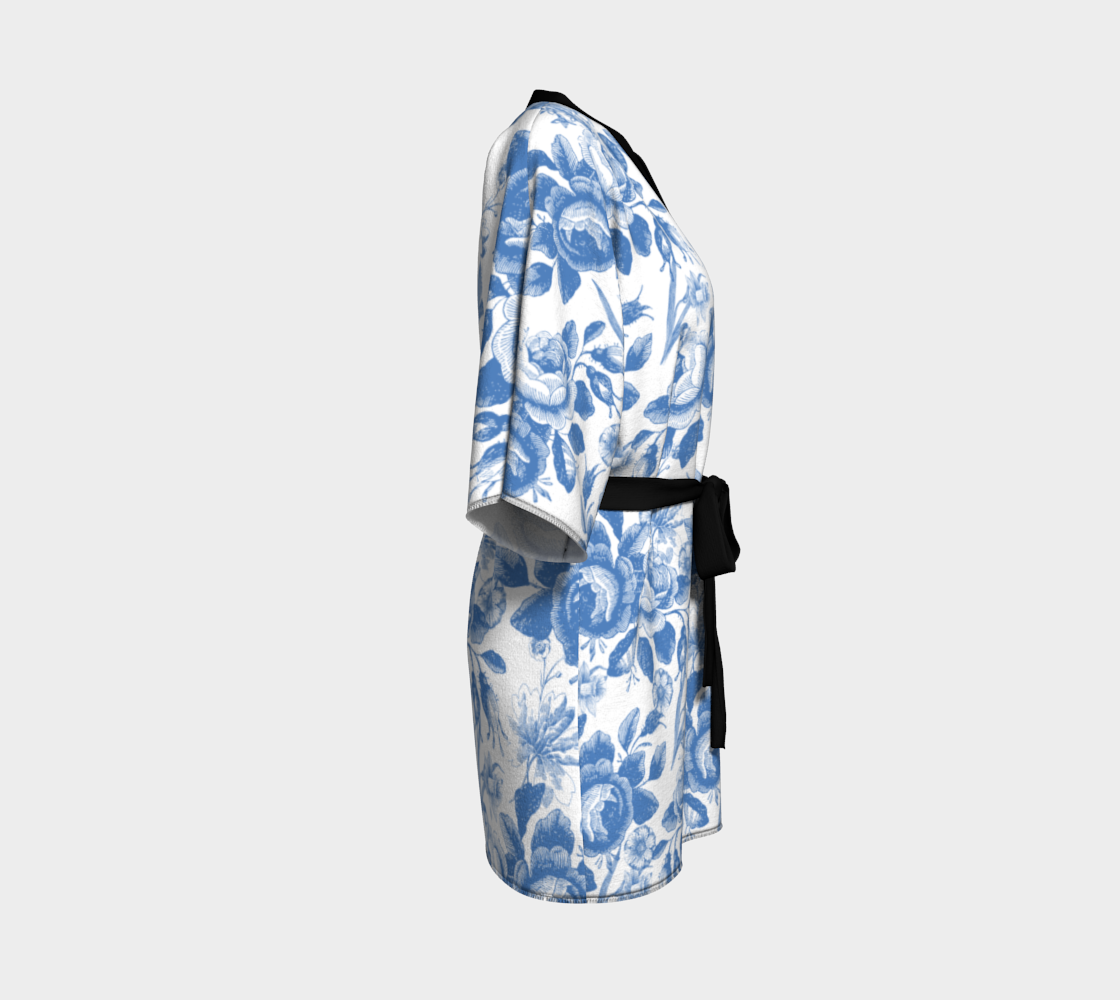 Gorgeous Blue and White Toile Look preview #3