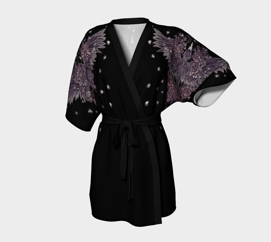 Kimono Robe Raven Rose Nest preview