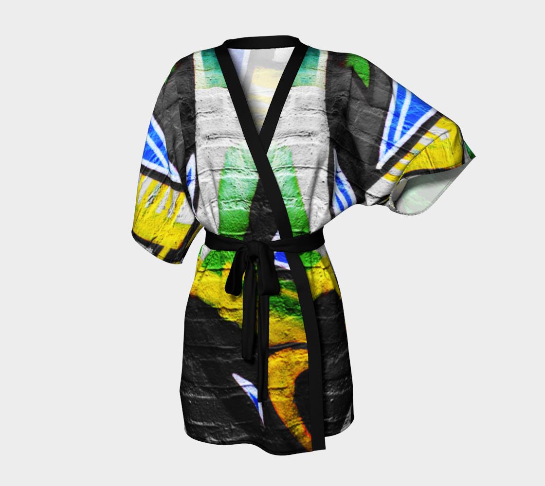 Graffiti 6 Kimono Robe preview