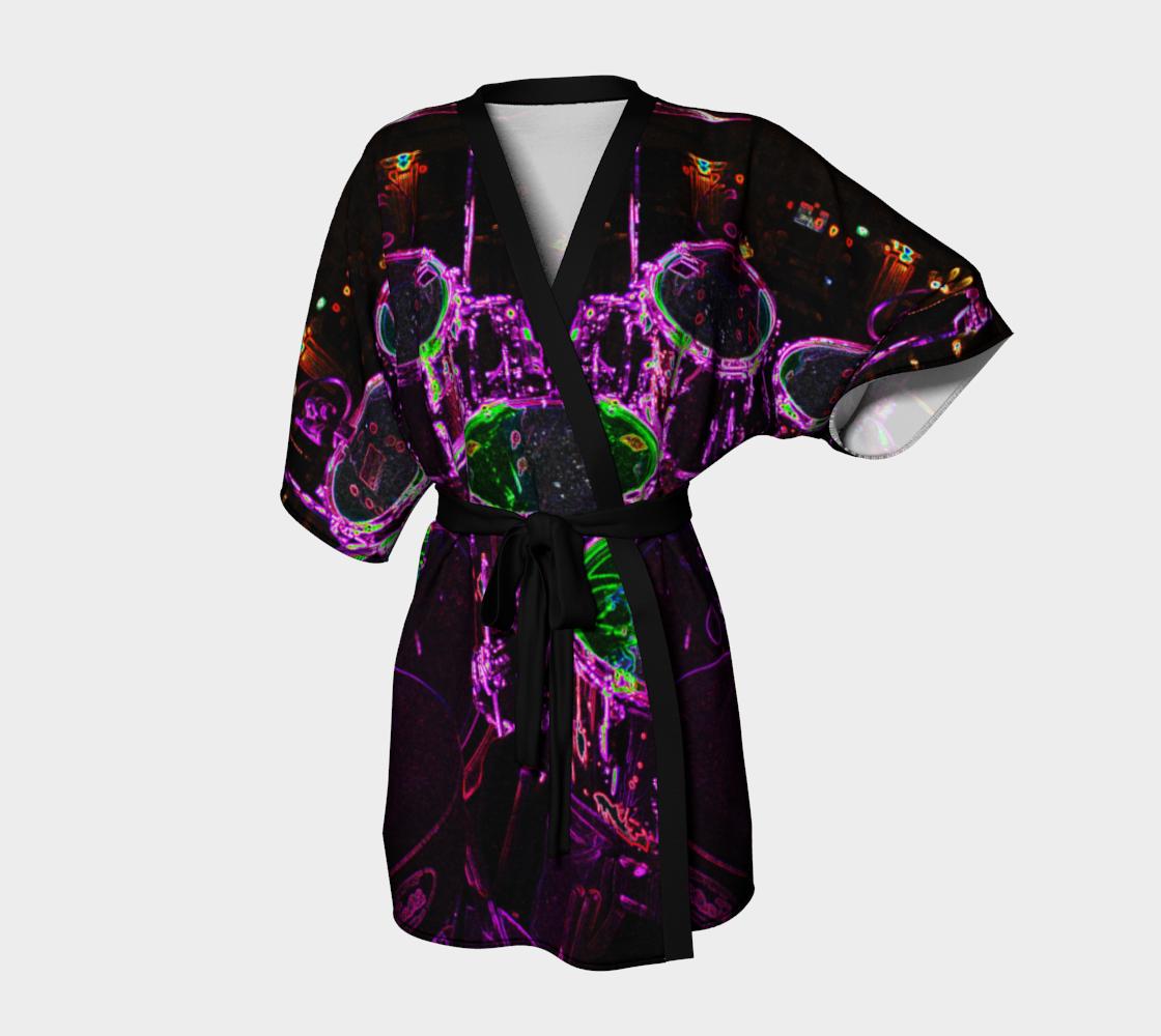 Aperçu de Drums Kimono Robe