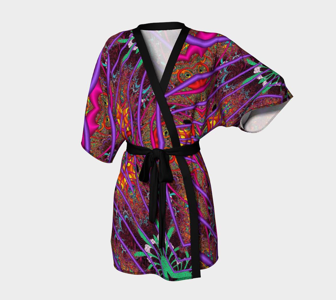 Aperçu de Wormhole Lace Kimono