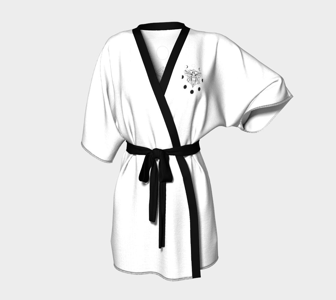 Moon Bee Kimono - White preview
