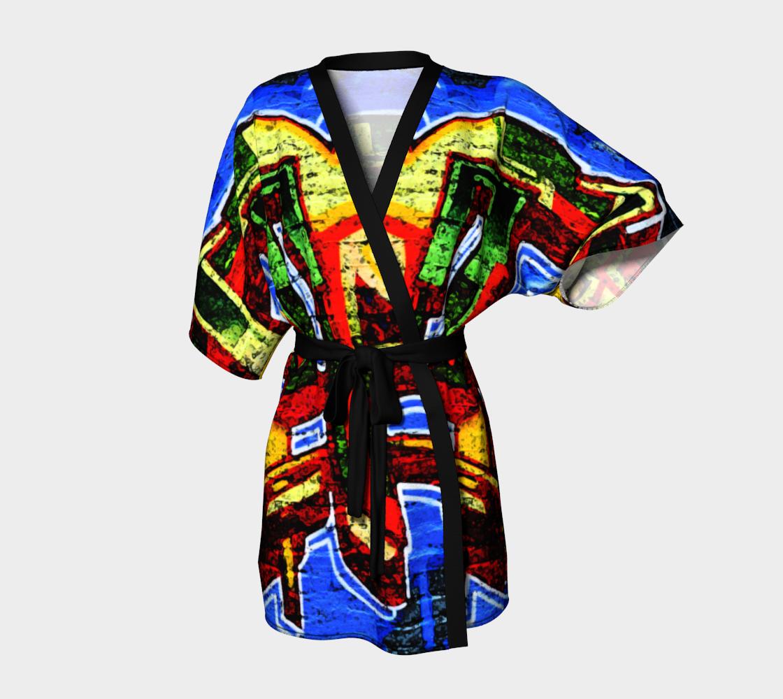 Graffiti 17 Kimono Robe preview