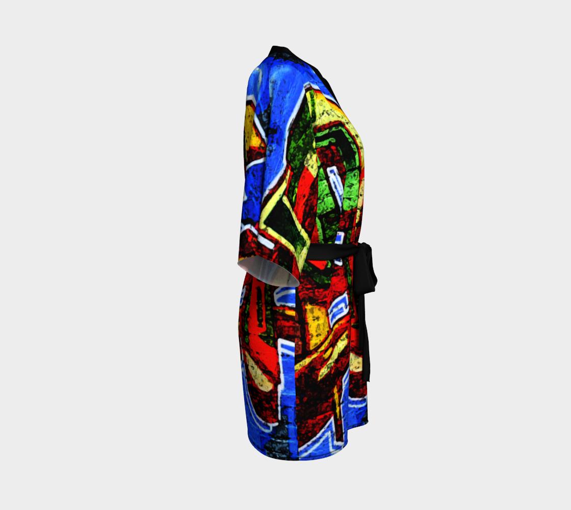 Graffiti 17 Kimono Robe preview #3