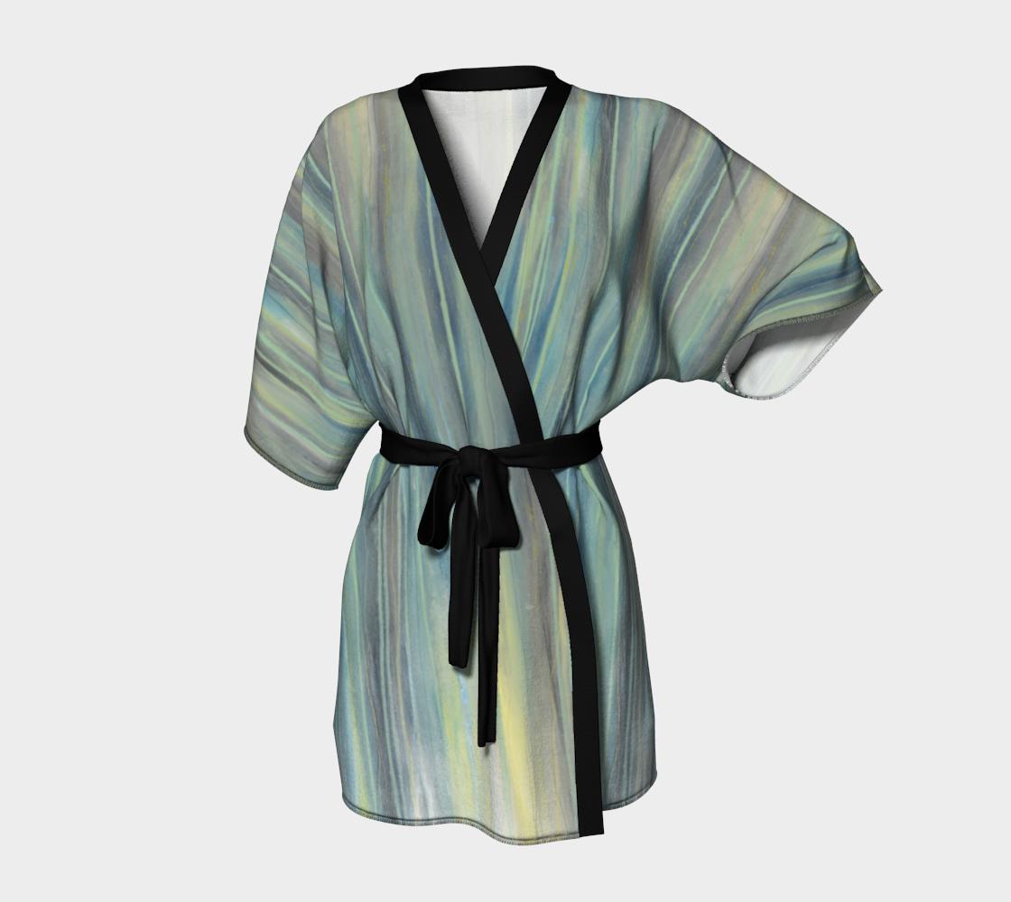 Morning on Ingonish Beach Kimono Robe - PaminOttawa.com preview