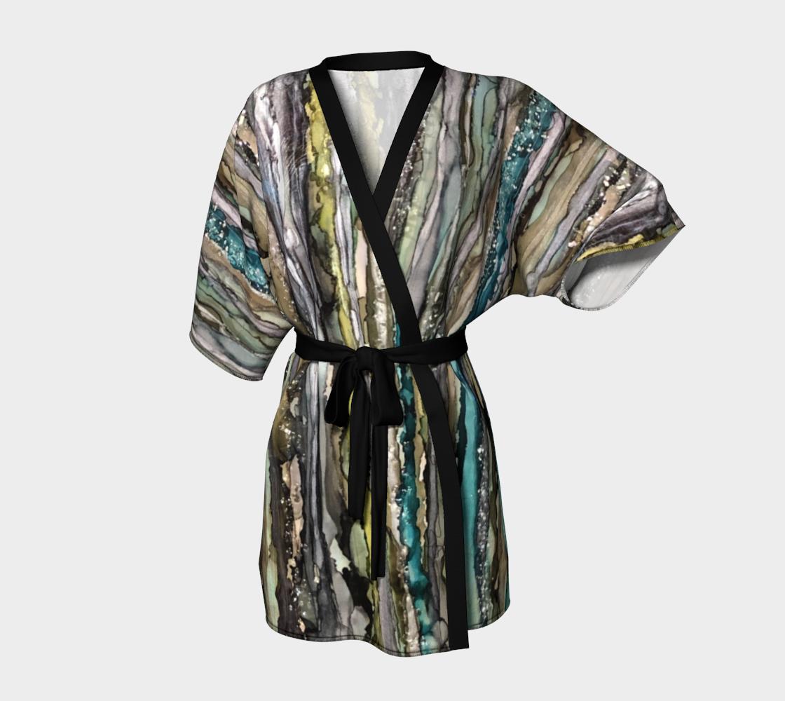 This Far but No Further Kimono Robe - PaminOttawa.com preview