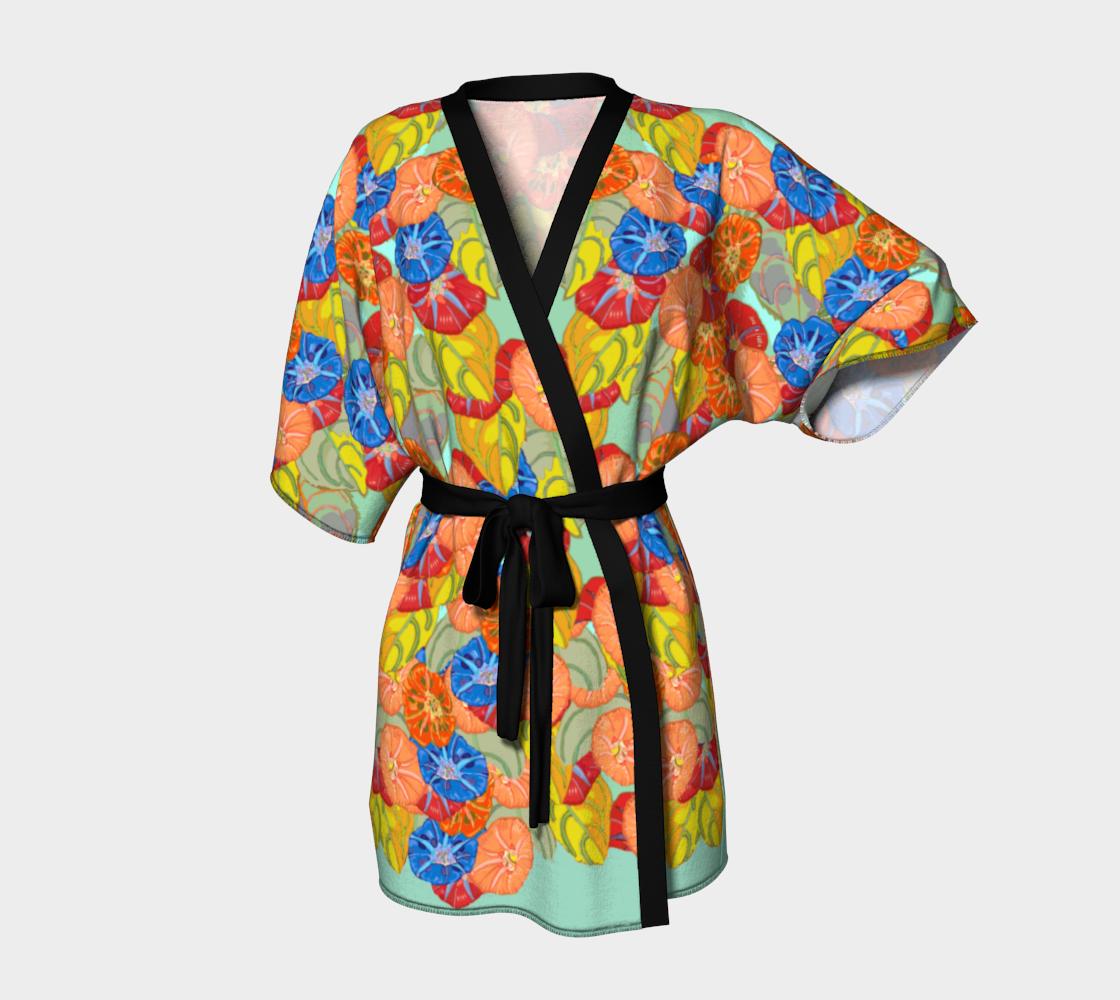 Hot Floral Kimono Deux preview