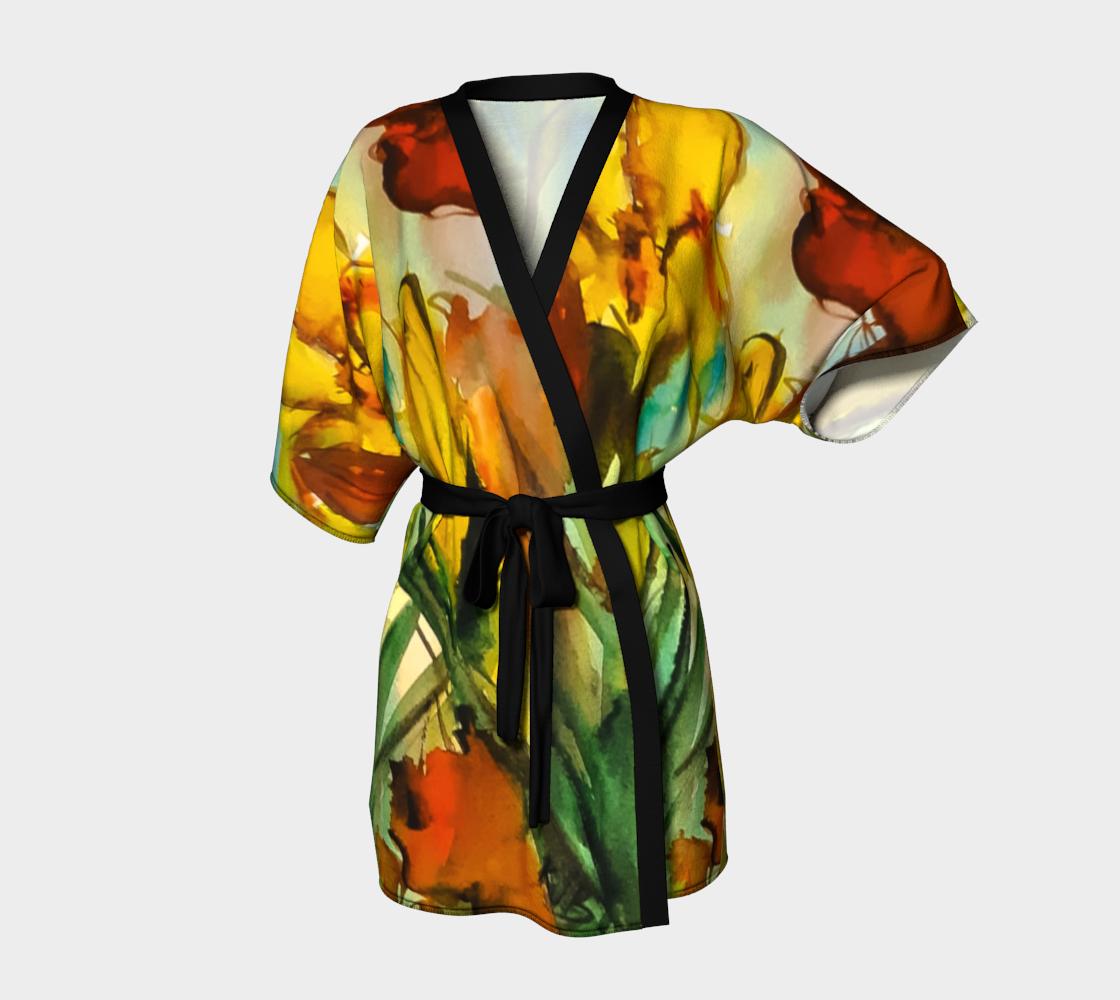 Aperçu de Spring Garden Kimono Robe