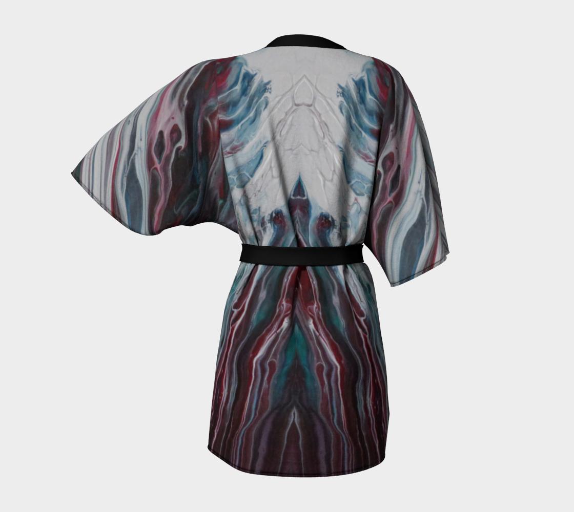 Aperçu de La fonte des éléments - Kimono peignoir #4