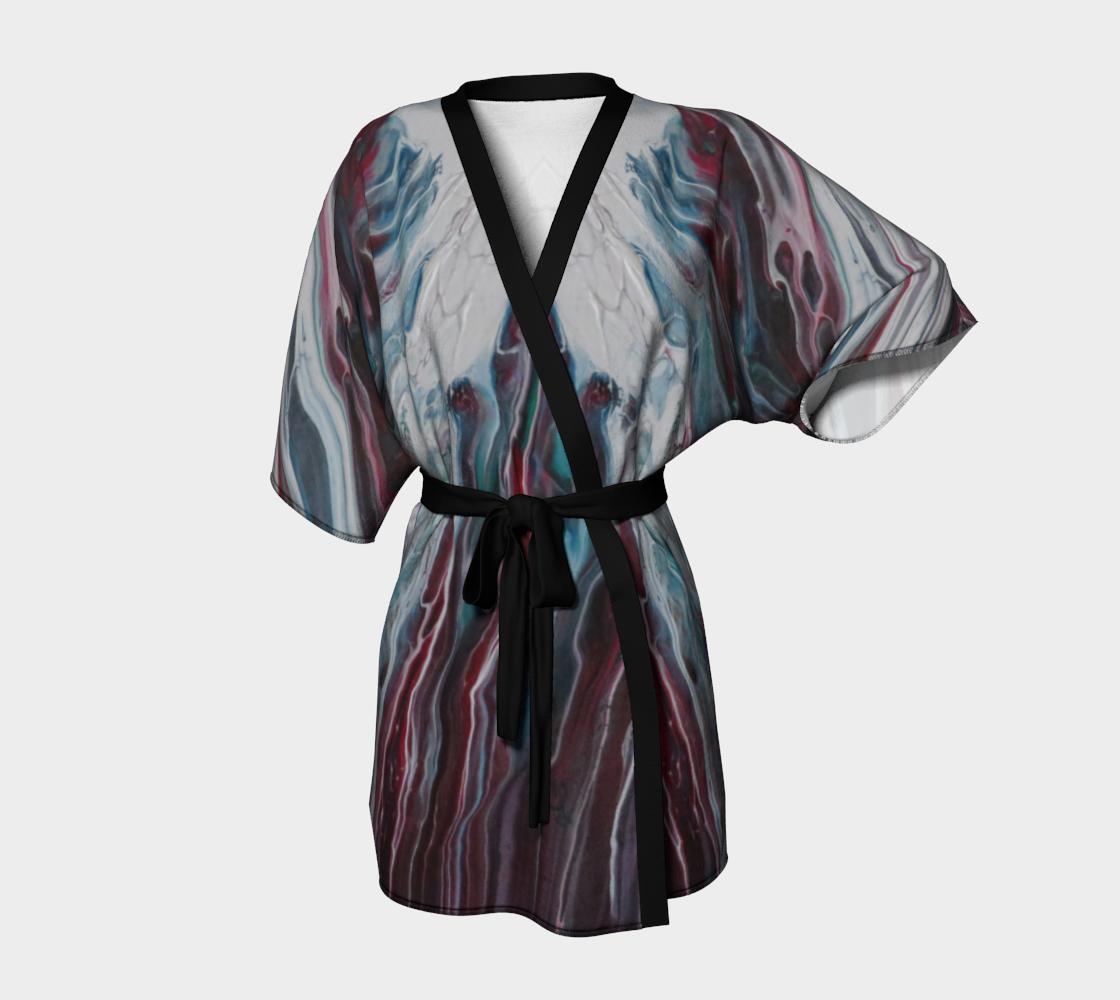 Aperçu de La fonte des éléments - Kimono peignoir #1
