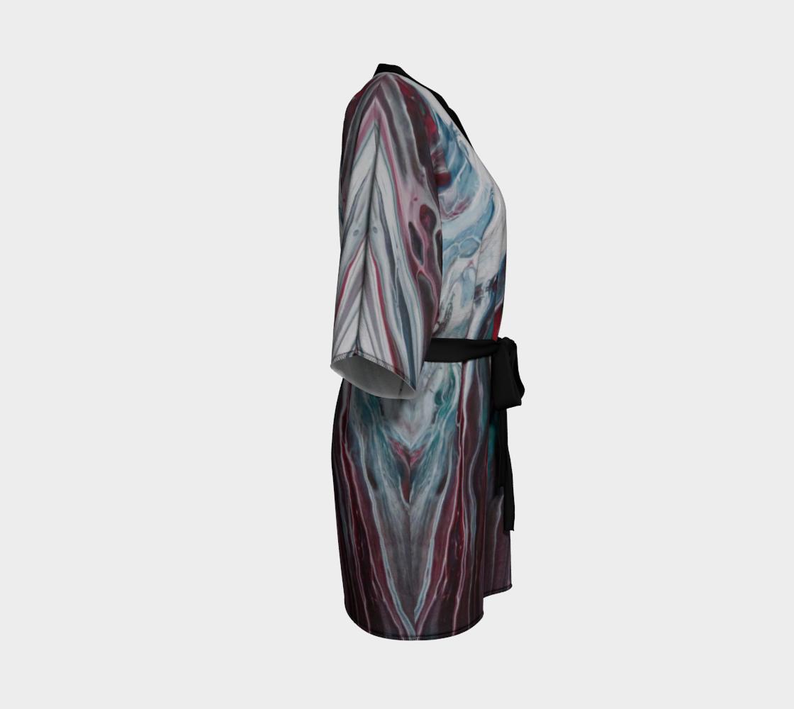 Aperçu de La fonte des éléments - Kimono peignoir #3